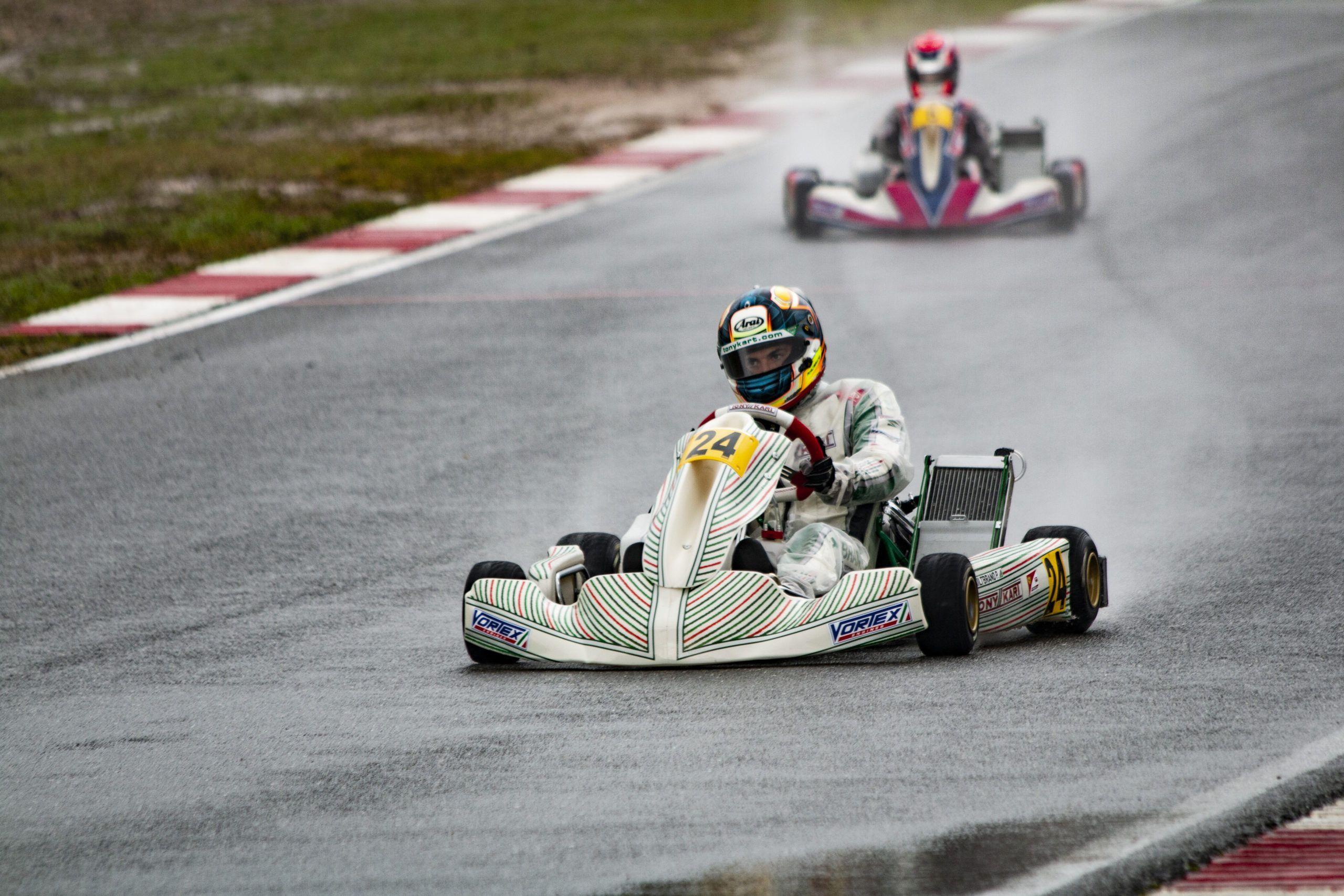 Pedro Hiltbrand, Tony Kart,
