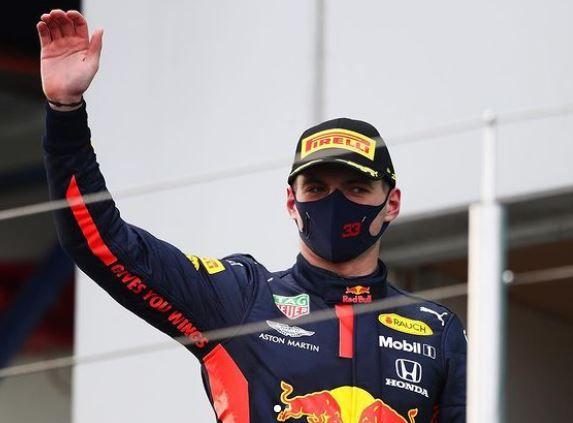 Fórmula 1. Max Verstappen.