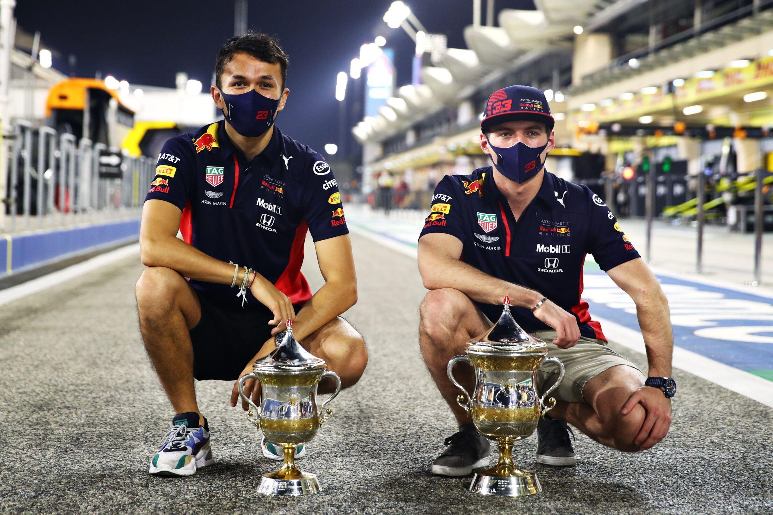Max Verstappen, Alexander Albon, F1