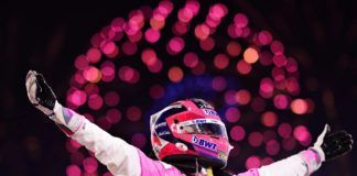 Fórmula 1. Sergio Pérez. Aston Martin Red Bull Racing.