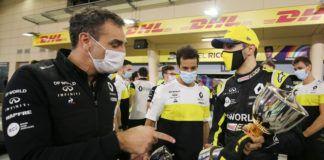 Cyril Abiteboul, Renault, Alpine