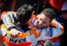 Andrea Dovizioso, Marc Marquez, Honda