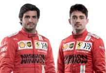 Ferrari, Charles Leclerc, Carlos Sainz, F1, Pirelli