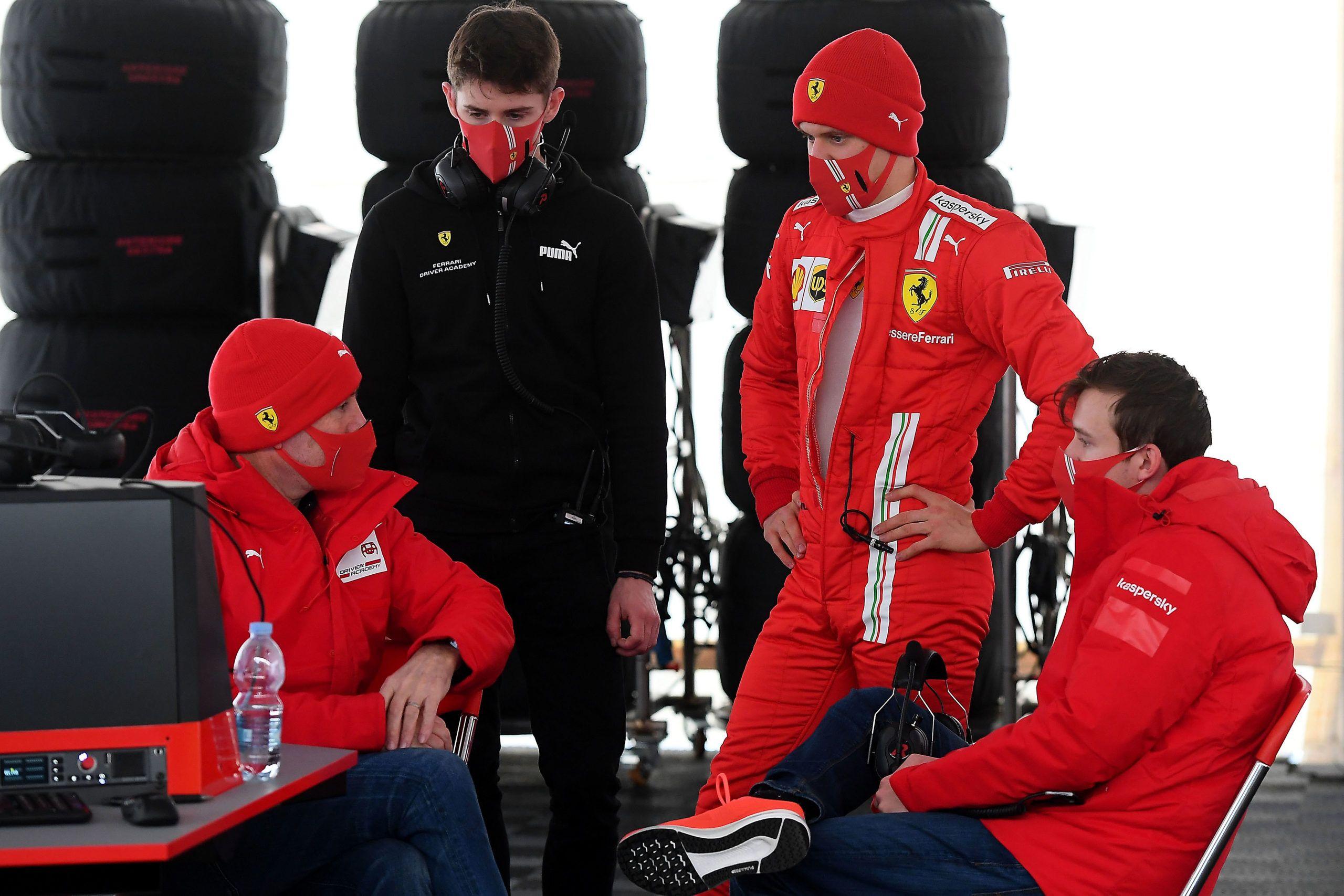 Ferrari, Callum Ilott