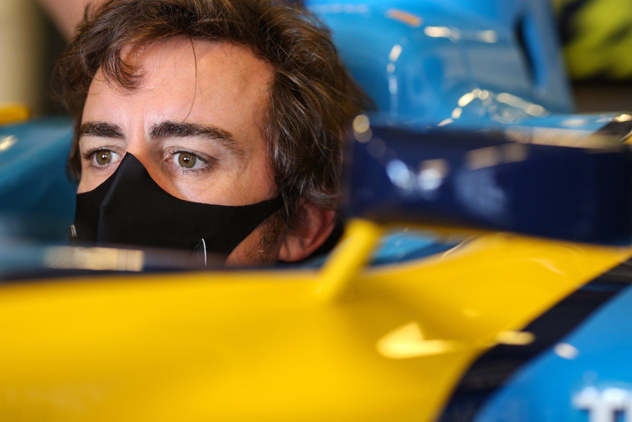Fernando Alonso, Alpine, F1