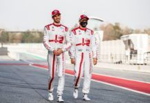 Antonio Giovinazzi, Kimi Raikkonen, Alfa Romeo, Frederic Vasseur