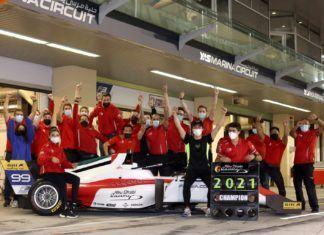 Guanyu Zhou gana el campeonato asiático de F3