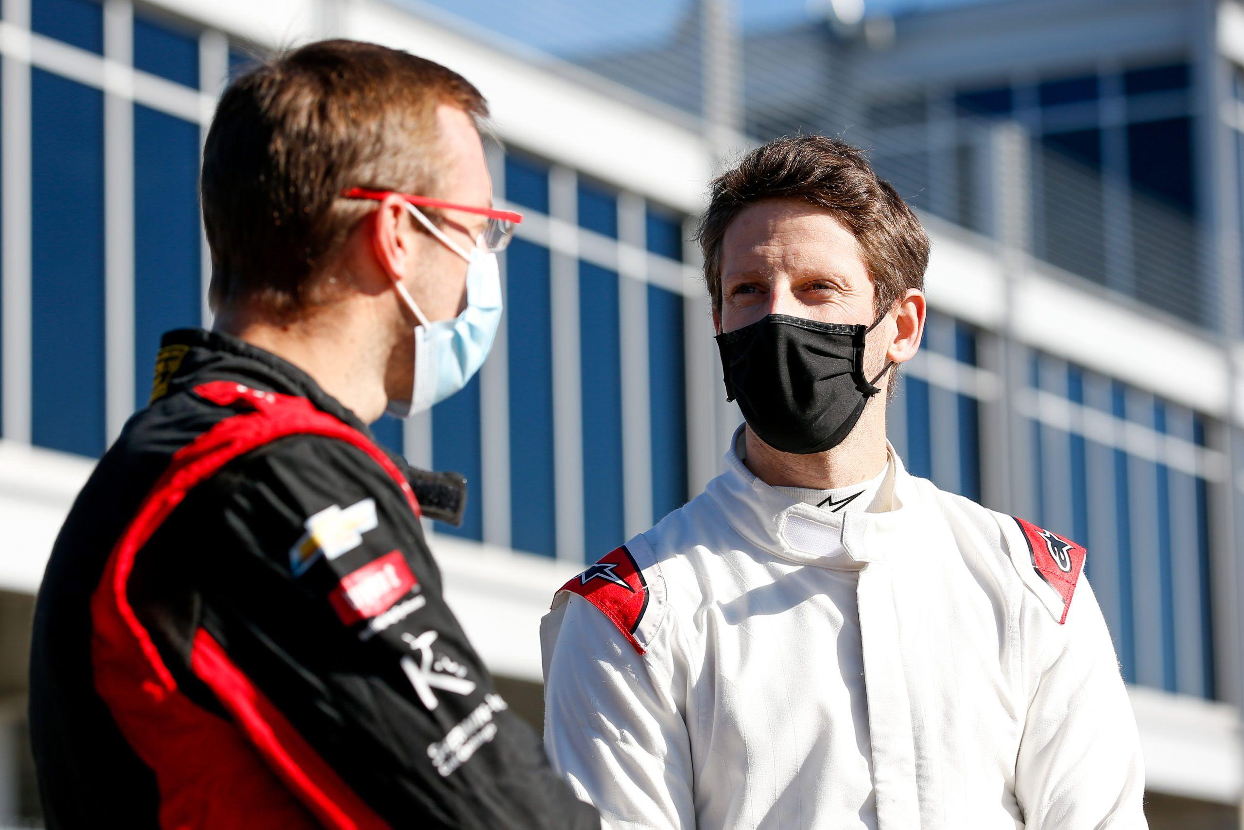 Romain Grosjean, DCR, IndyCar 2021, Sebastien Bourdais, AJ Foyt Racing