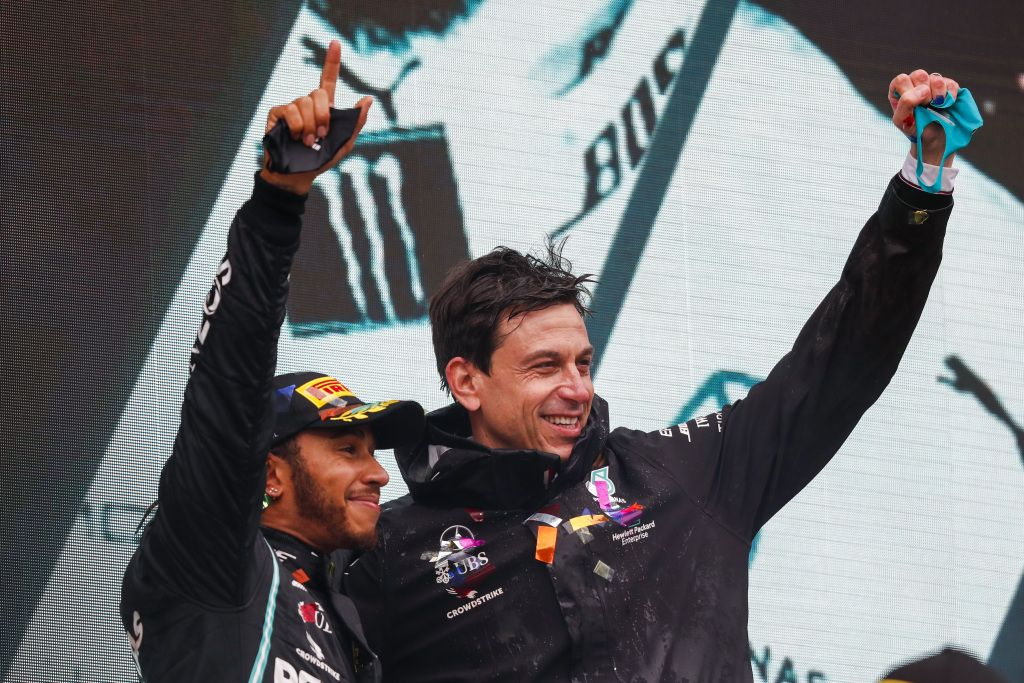 Toto Wolff, Lewis Hamilton, Mercedes, F1