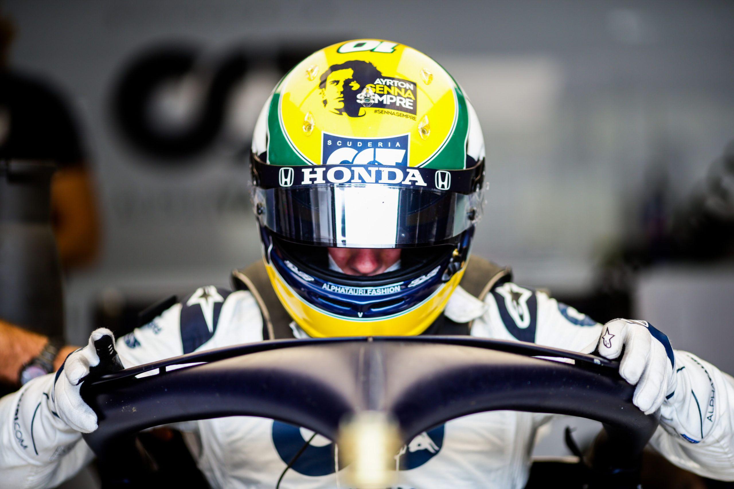 Pierre Gasly, F1, Senna, Jenson Button, Extreme E