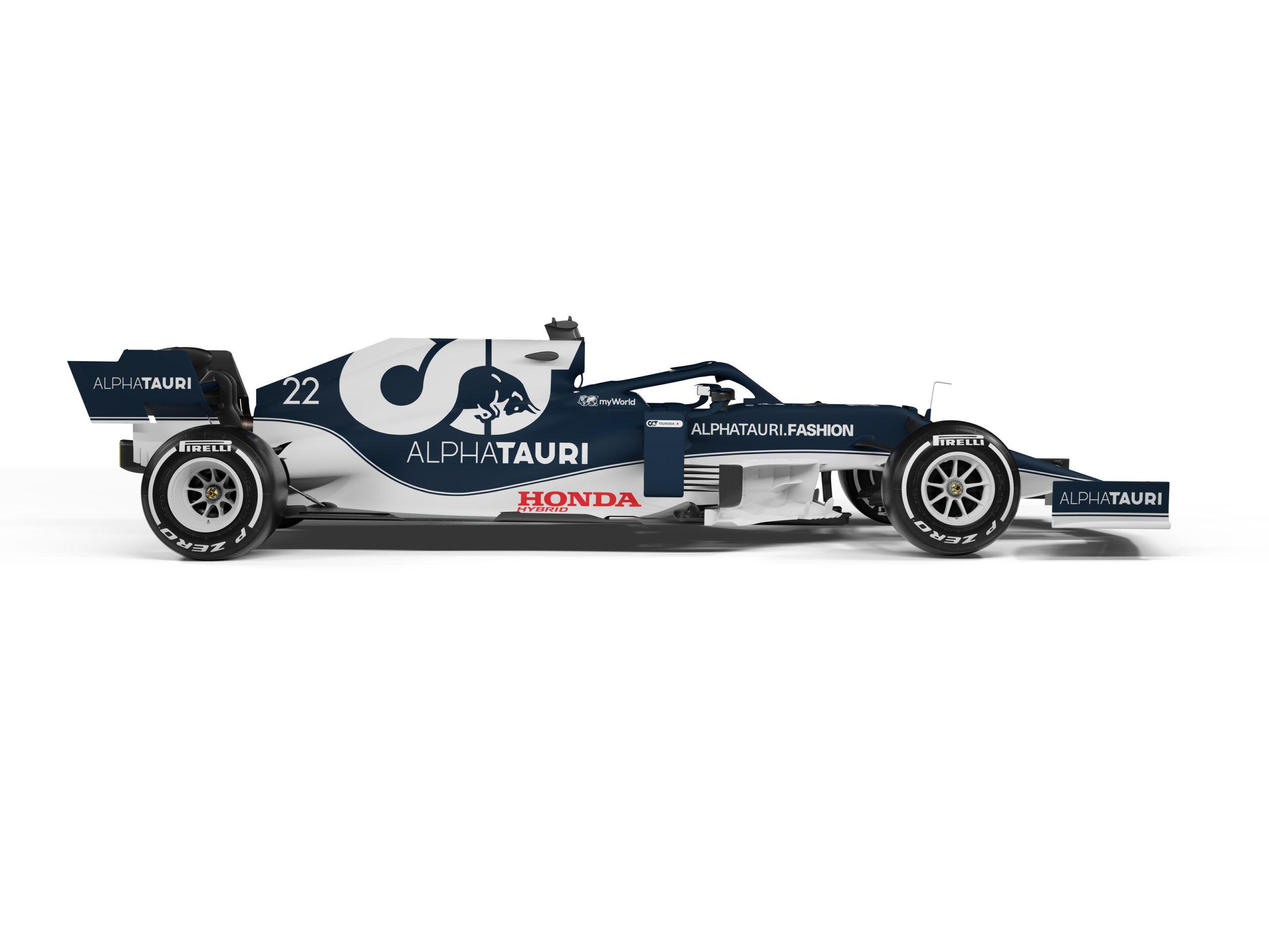 AlphaTauri, Honda, F1