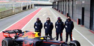 Max Verstappen, Sergio Perez, Alexander Albon, F1