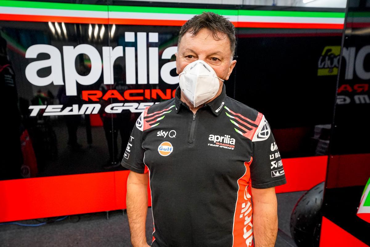 Fausto Gresini, MotoGP, Aprilia