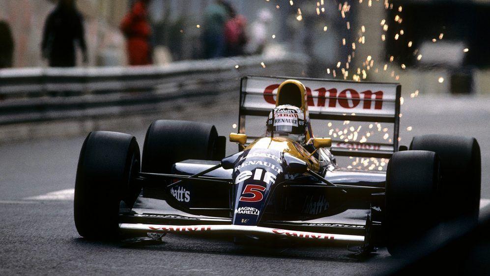 Mansell no renovó tras 1992