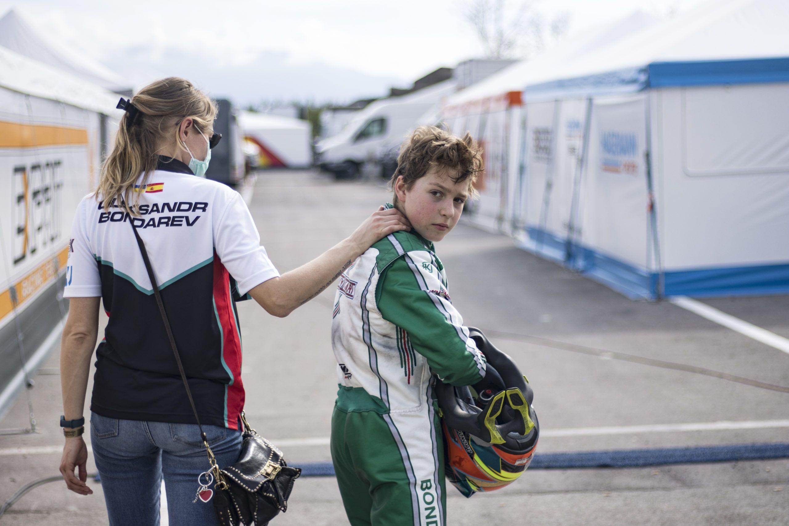 Oleksander Bondarev, OKJ, rotax max challenge, karting