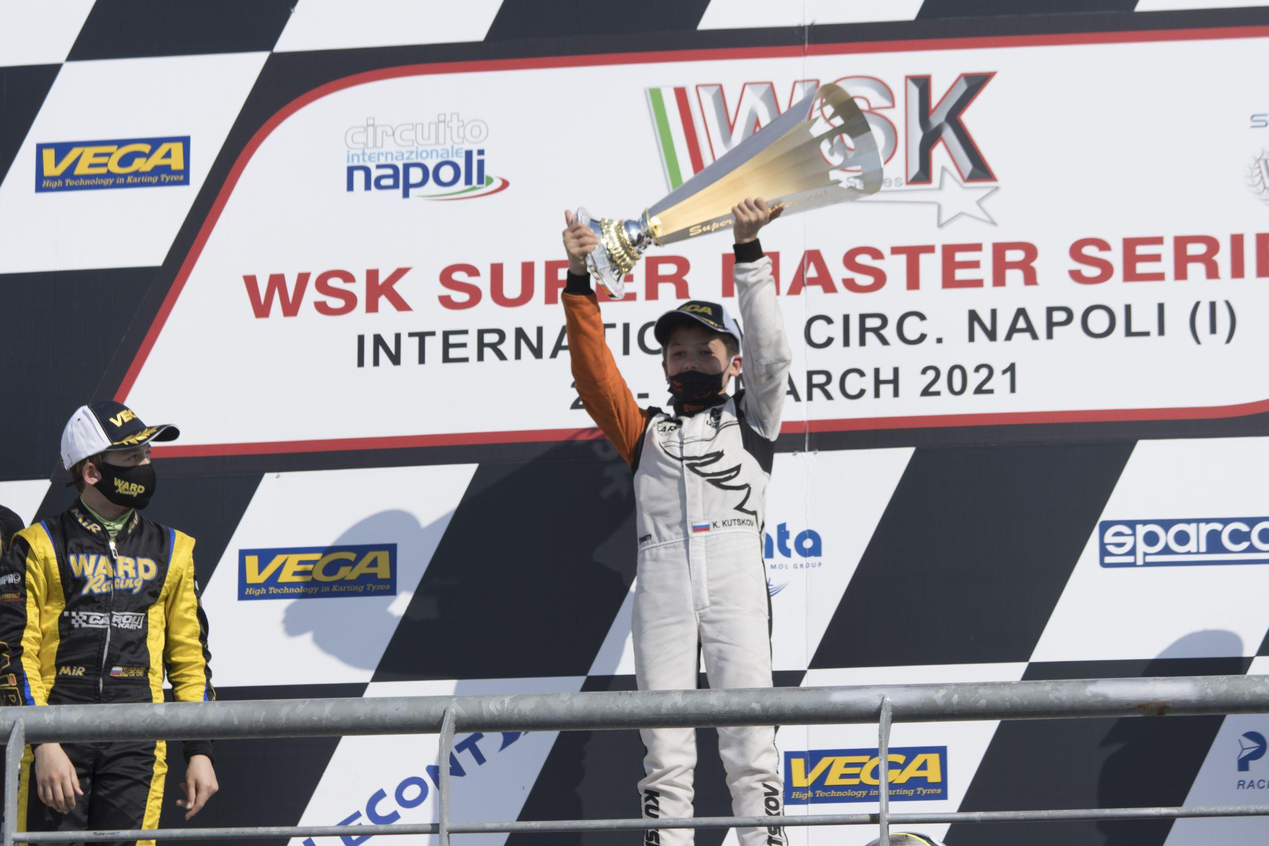 Sarno, Circuito Internazionale Napoli, Tony kart, WSK Super master series, vortex,