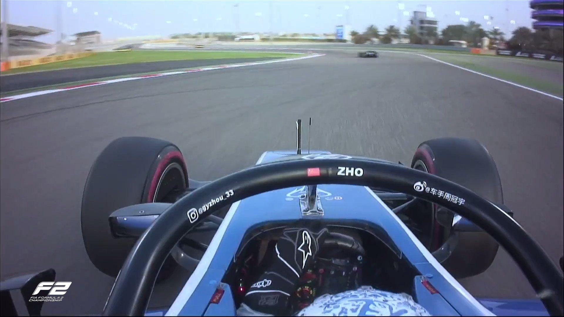 F2, Guanyu Zhou, Porsche