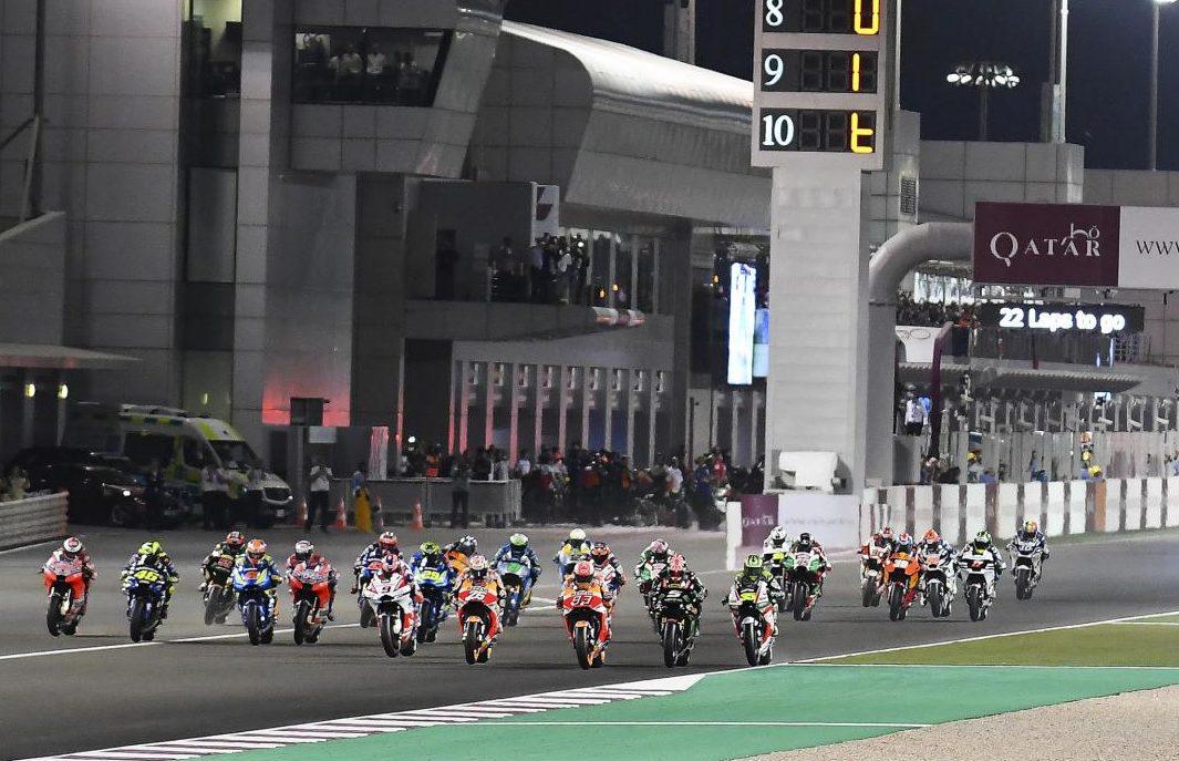 arranca el GP de Qatar de MotoGP
