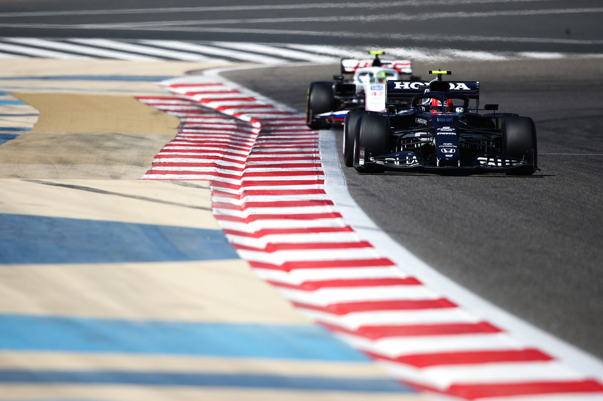 F1, Bahrain F1 Test
