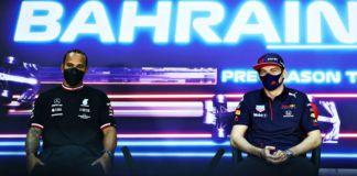 Max Verstappen, Sergio Perez, Lewis Hamilton