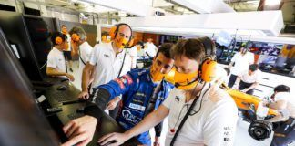Andreas Seidl, Daniel Ricciardo, McLaren
