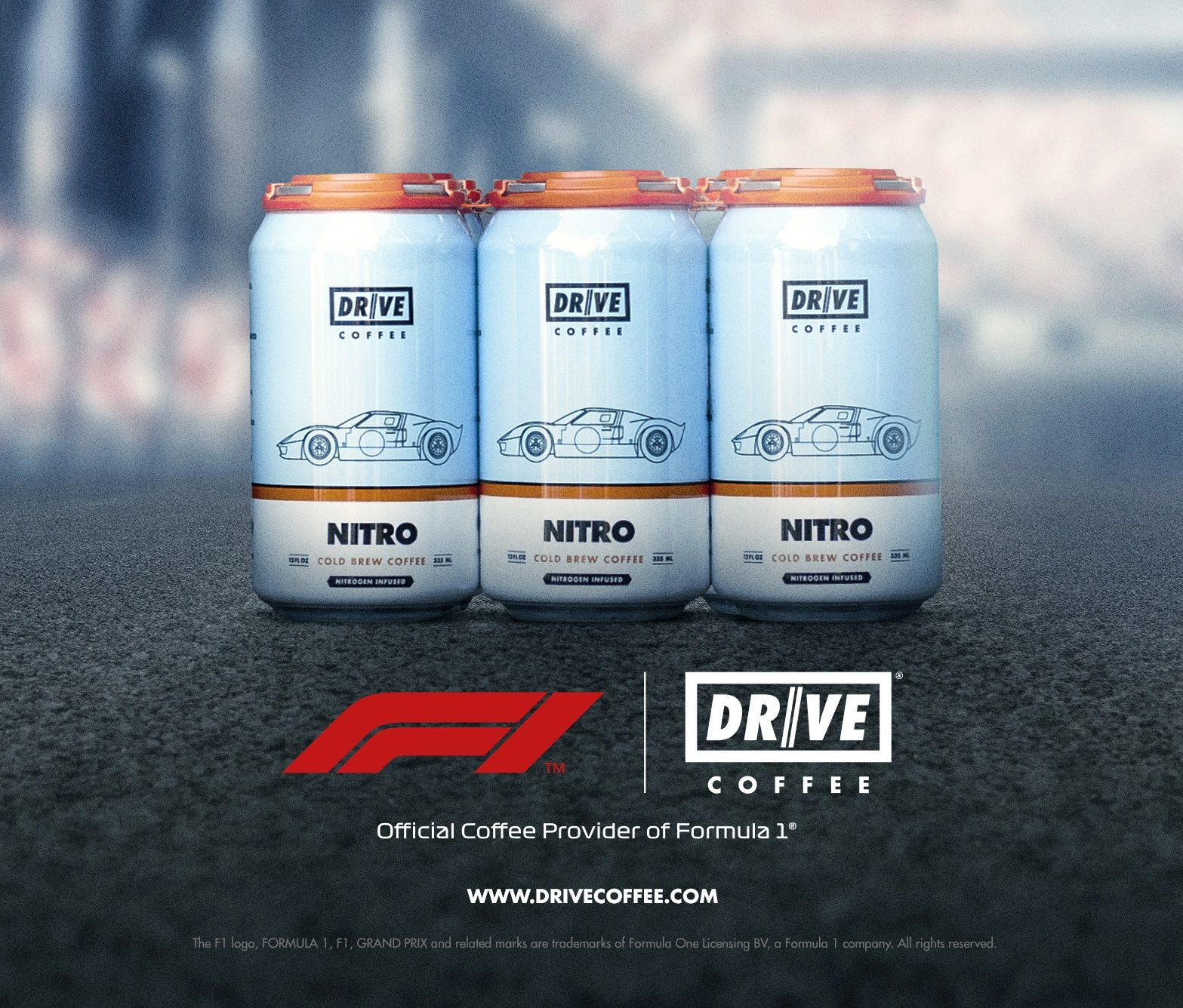 F1, Drive, Coffee