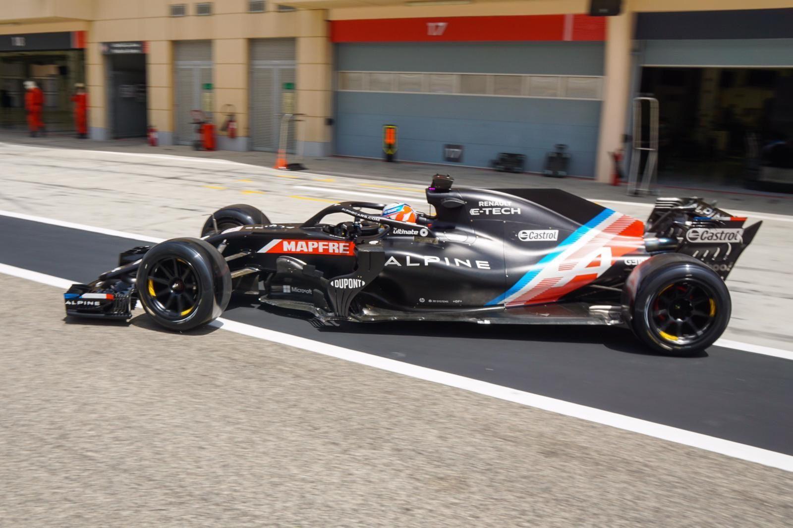F1, Pirelli, Ferrari, Alpine