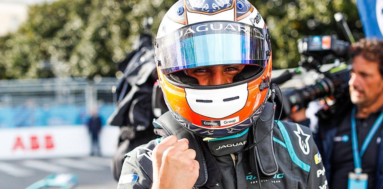Fórmula E. Mitch Evans. Roma E - Prix.