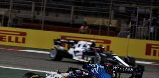 George Russell, Nicholas Latifi, F1