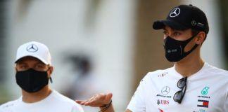 George Russell, Valtteri Bottas, F1, Mercedes