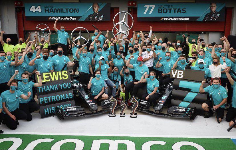 Mercedes. Fórmula 1.