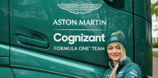 Aston Martin, Jessica Hawkins, Mercedes, F1