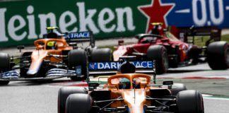 Lando Norris, Daniel Ricciardo, McLaren, Ferrari