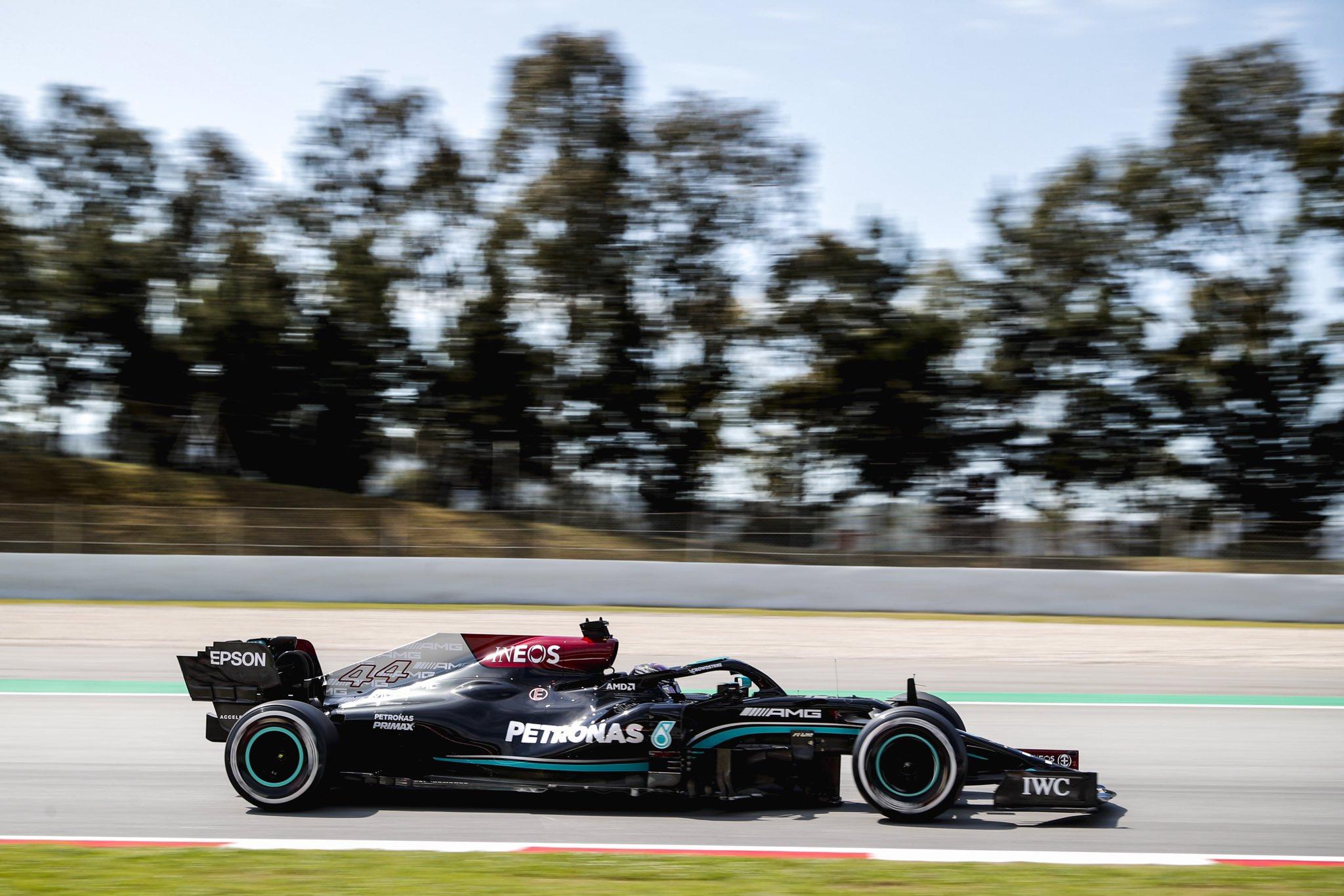 F1, Spanish GP, Lewis Hamilton