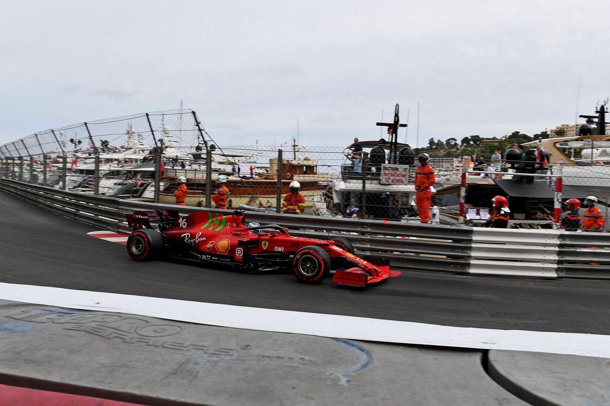 F1, Monaco GP, Charles Leclerc