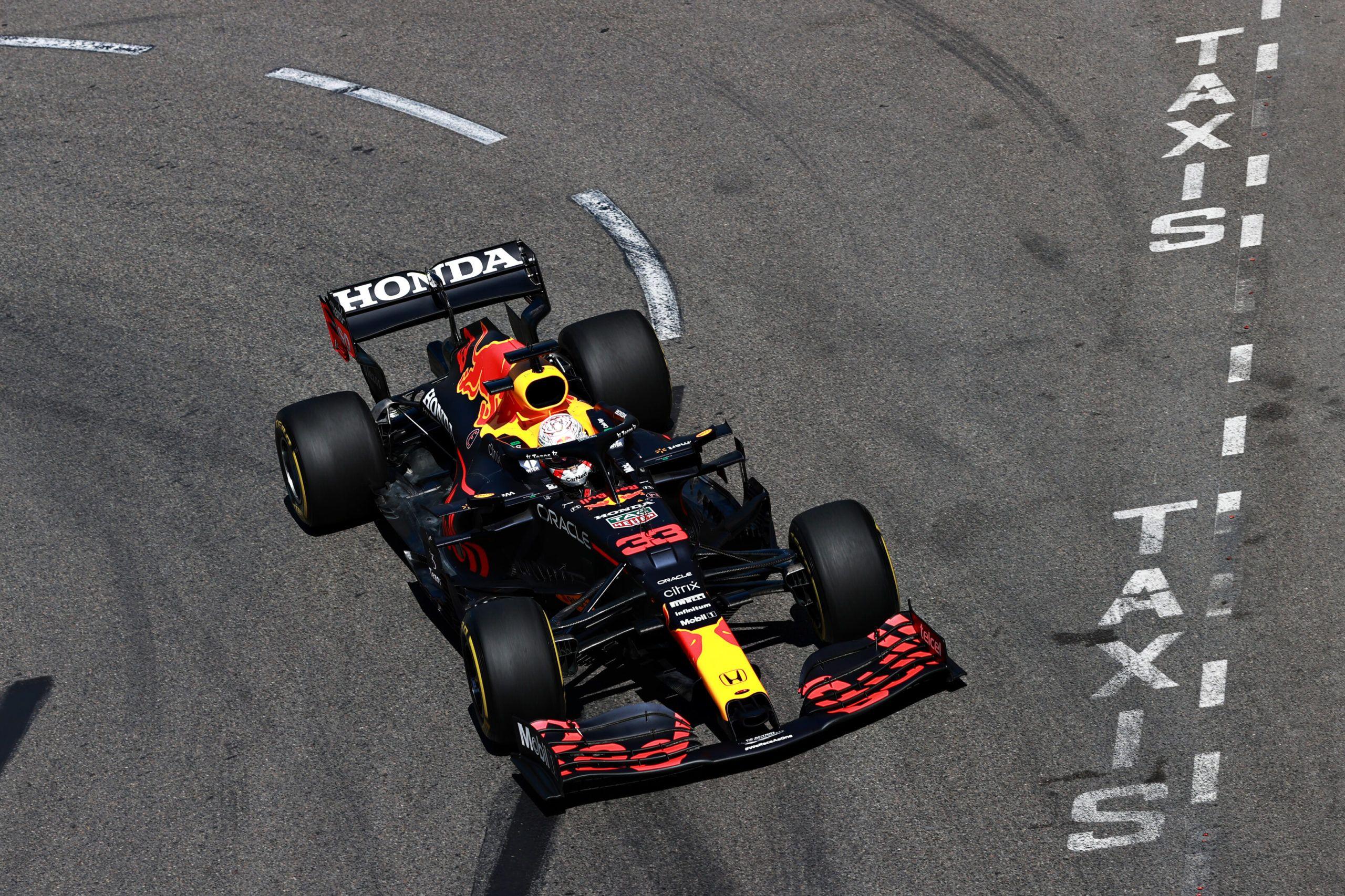 F1, Moncaco GP, Max Verstappen