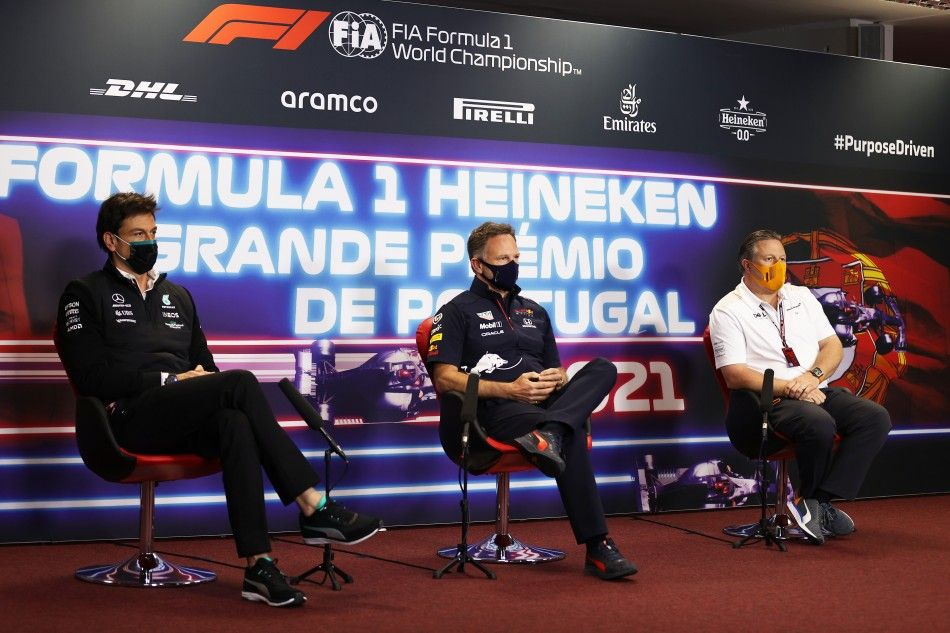 Christian Horner, Toto Wolff, F1