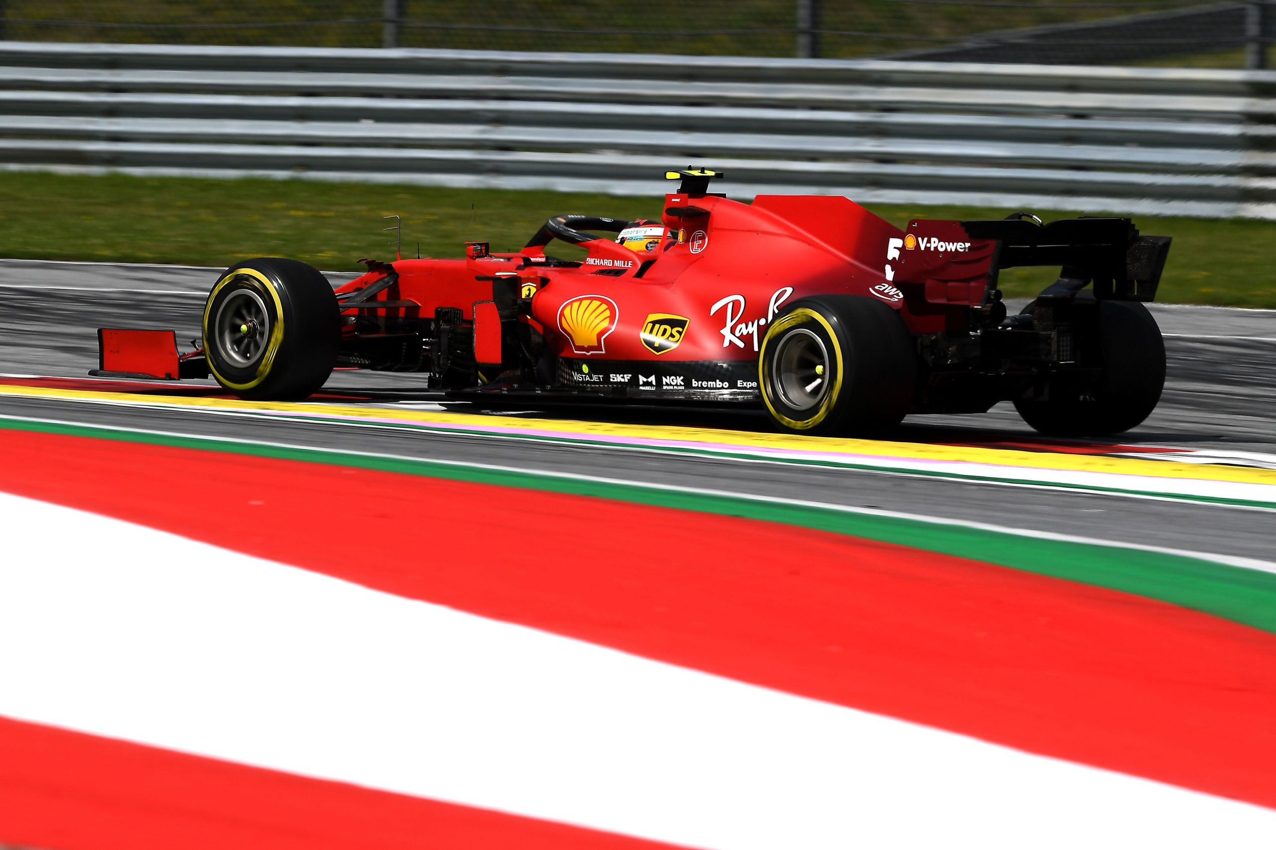 Carlos Sainz, Lando Norris, Ferrari