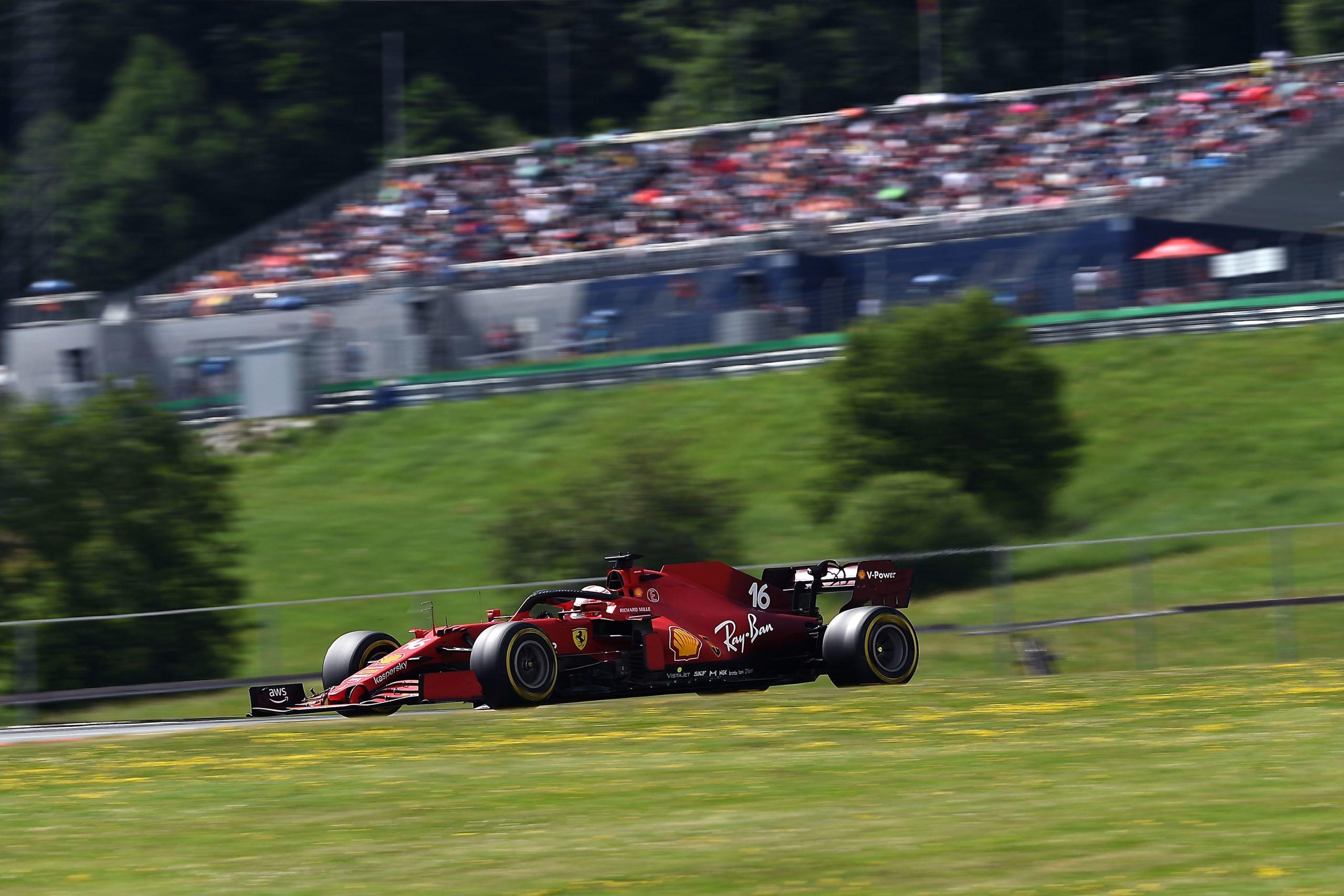 Charles Leclerc, Ferrari, Ross Brawn