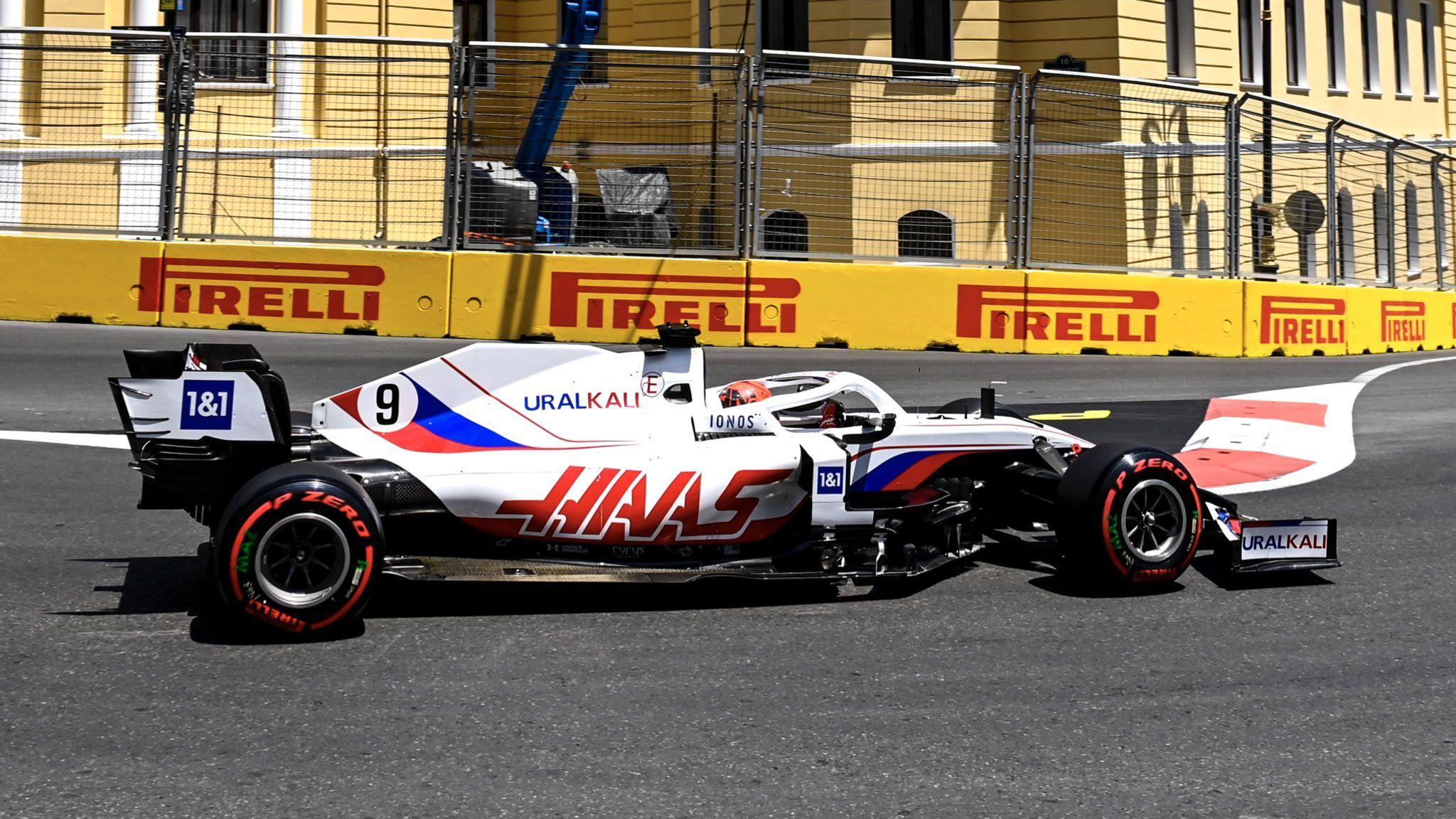Nikita Mazepin, Haas, F1