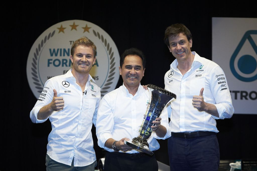 Nico Rosberg, Toto Wolff
