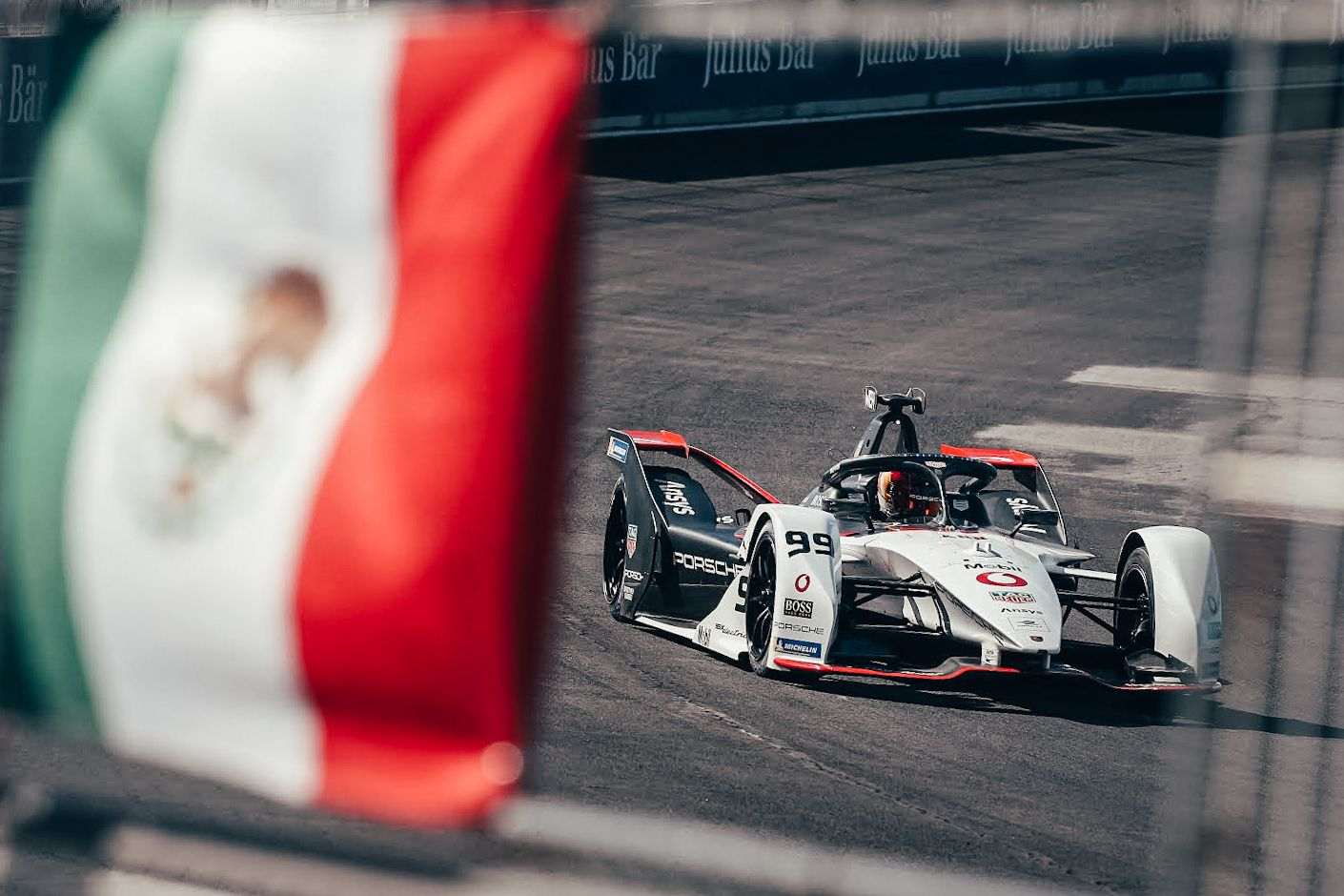Pascal Wehrlein. Puebla E - Prix