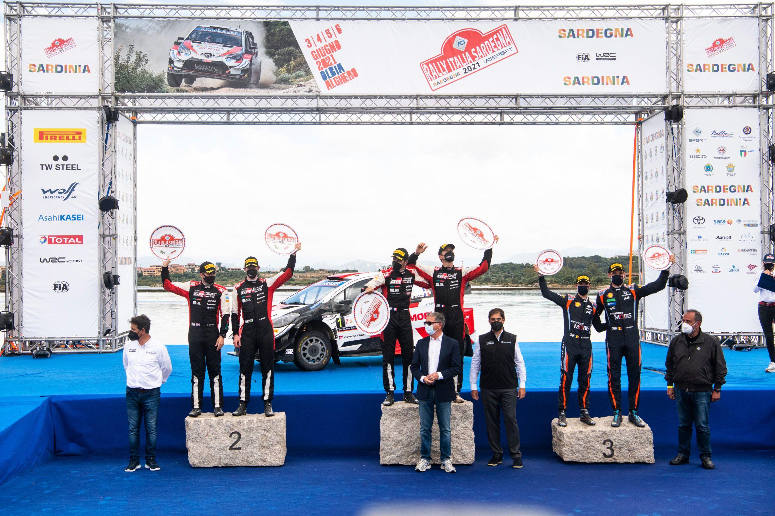 WRC, Rally Italia Sardegna