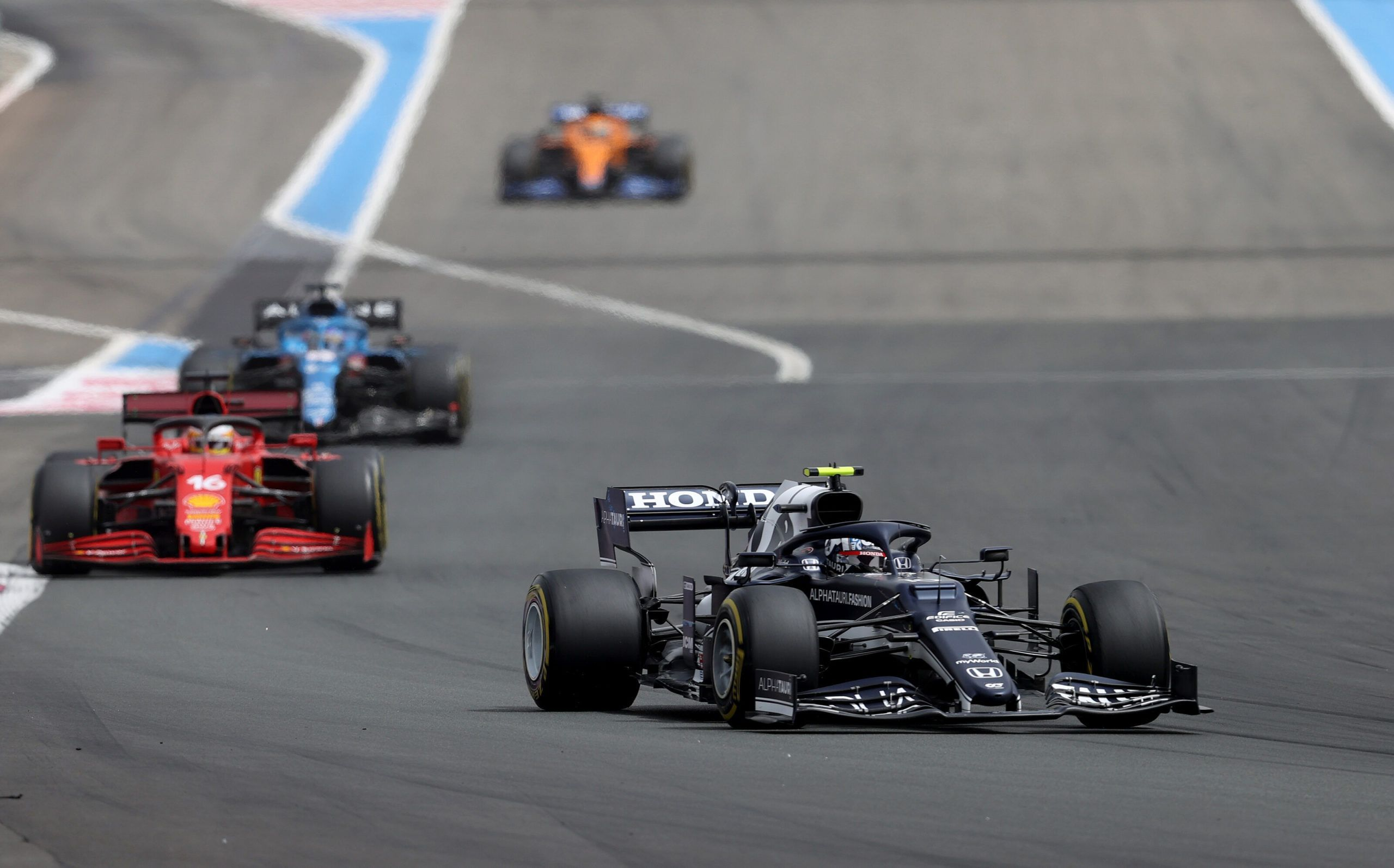 Pierre Gasly, Lando Norris, French GP