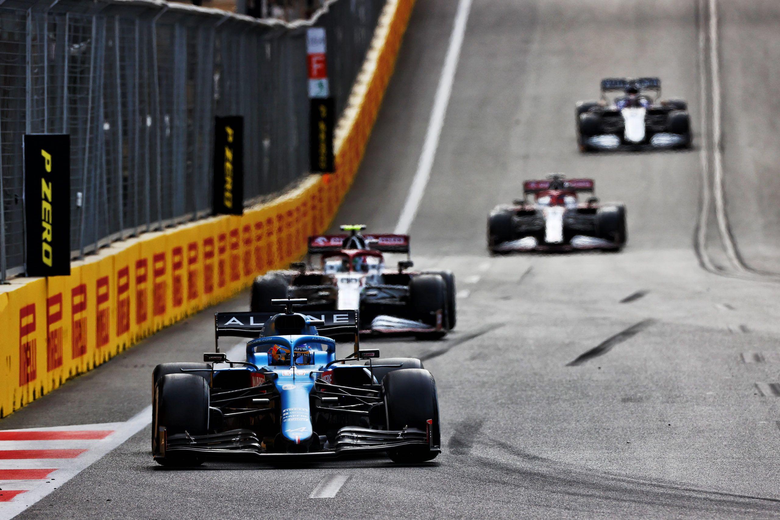 Fernando Alonso, Alpine, Esteban Ocon