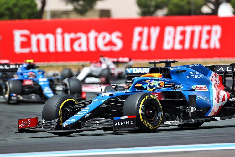 Alpine, Fernando Alonso, Esteban Ocon