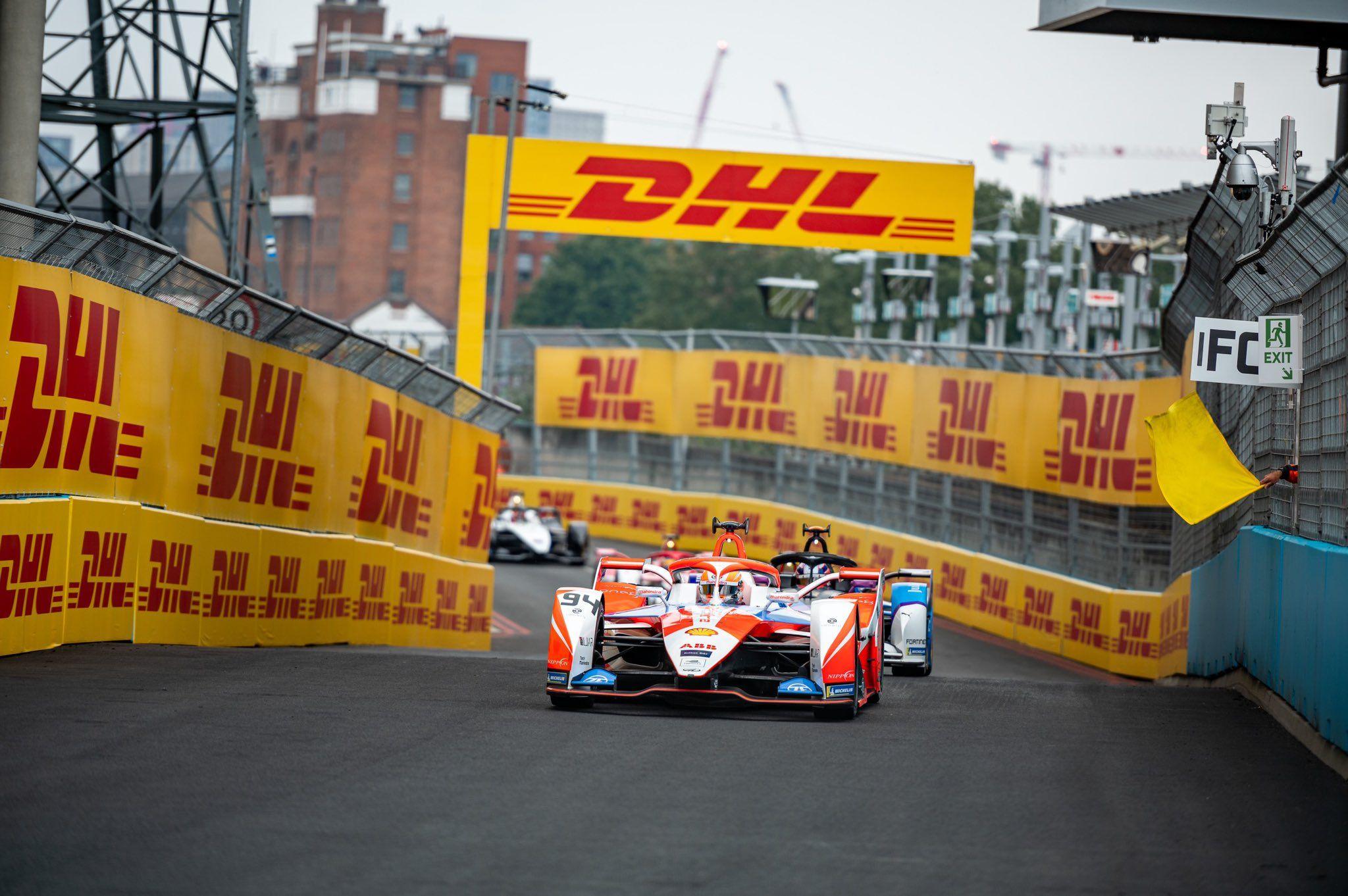 Formula E, Alex Lynn, London EPrix