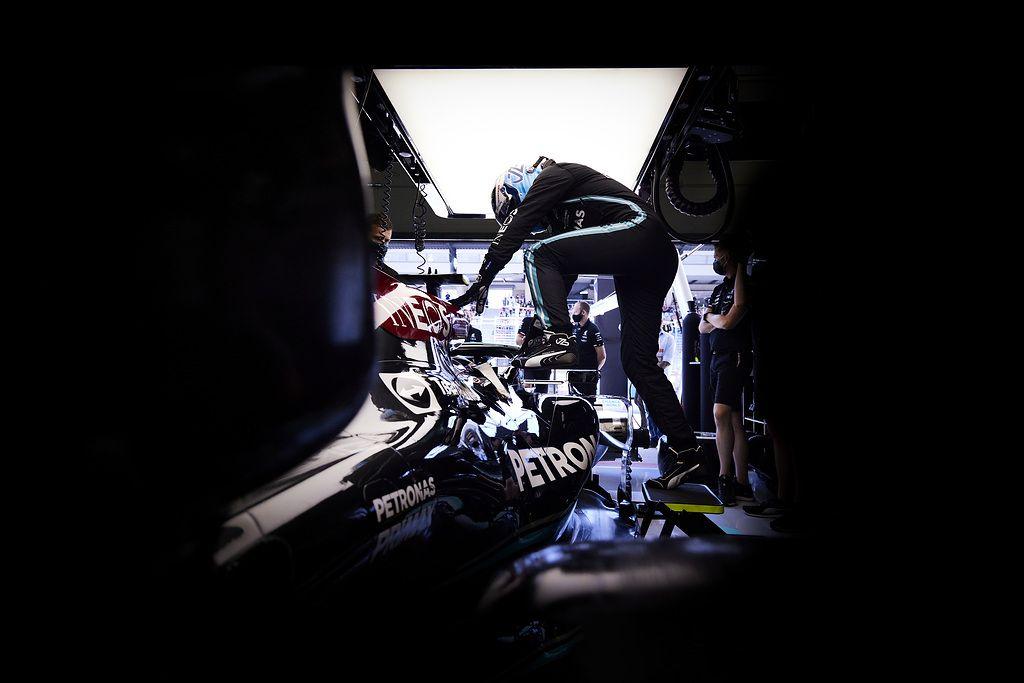 Valtteri Bottas, George Russell, F1, Mercedes