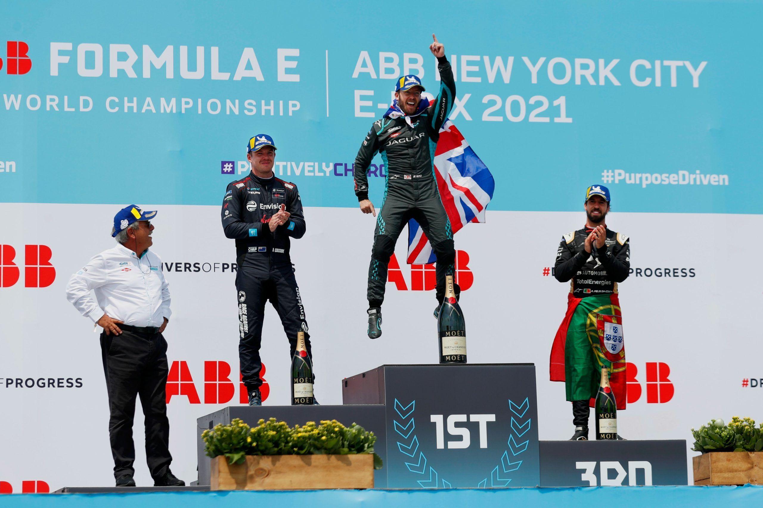 Nueva York E - Prix. Fórmula E.