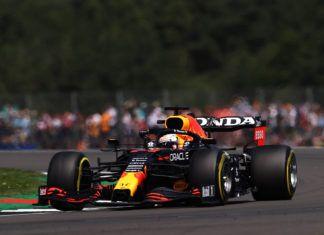 F1, British GP, Max Verstappen